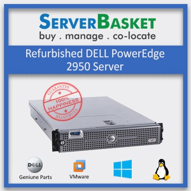 Buy Refurbished Dell PowerEdge 2950 Server at Best Price from Server Basket Online, Purchase Dell PowerEdge 2950 Server today on Server Basket
