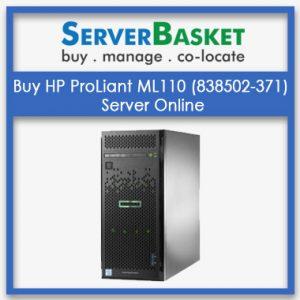 Buy HP ProLiant ML110 (838502-371) Server Online
