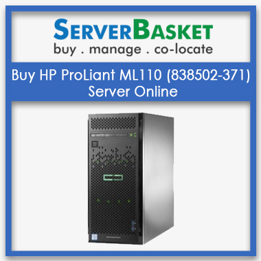Buy HP ProLiant ML110 (838502-371) Server Online