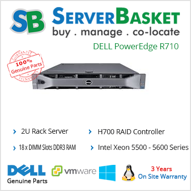 Rent DELL PowerEdge R710 Server