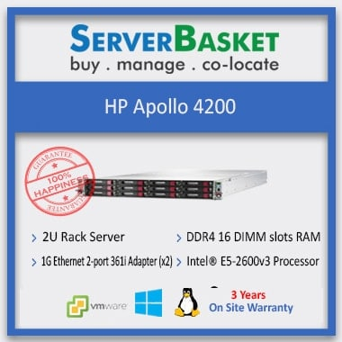 HP Apollo 4200, HP Apollo 4200 (849878-B21) Gen-9 Server