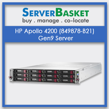 HP Apollo 4200 (849878-B21) Gen9 Server