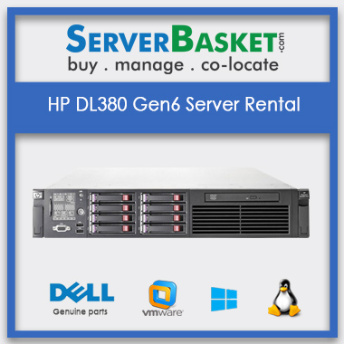 Buy HP DL380 Gen6 Server Rental In India