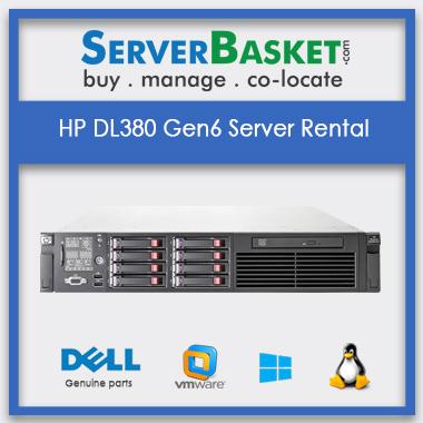 Buy HP DL380 Gen6 Server Rental In India