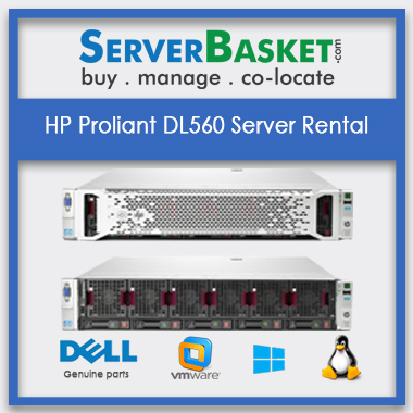 Buy HP Proliant DL560 Server Rental In India