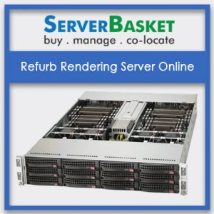 Refurb Rendering Server Online