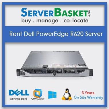 Rent Dell PowerEdge R620 Server In India