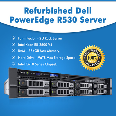 Second Hand Dell PowerEdge R530 Server