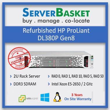 Second Hand HP ProLiant DL380P Gen8 Server