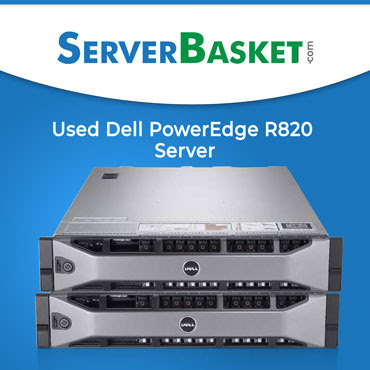 Used Dell PowerEdge R820 Server at best price in India