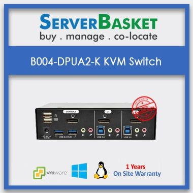 Buy B004-2DUA2-K DVI KVM Switch from Server Basket