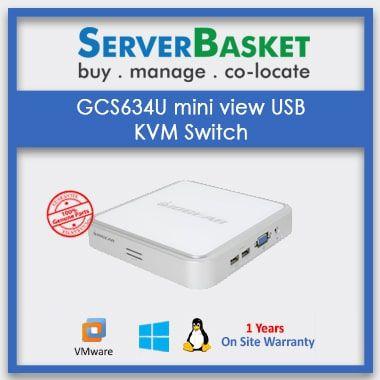 Order B022-004-R Desktop KVM Switch Now on Server Basket
