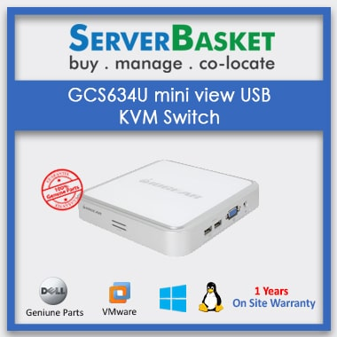 Order B022-004-R Desktop KVM Switch Now on Server Basket