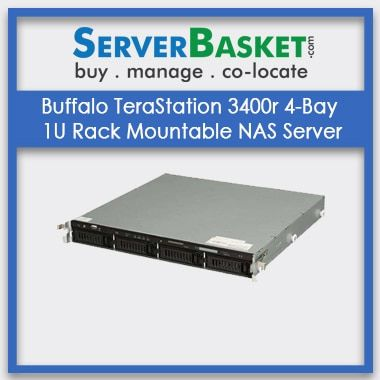 Buy Buffalo TeraStation 3400r 4-Bay Server In India