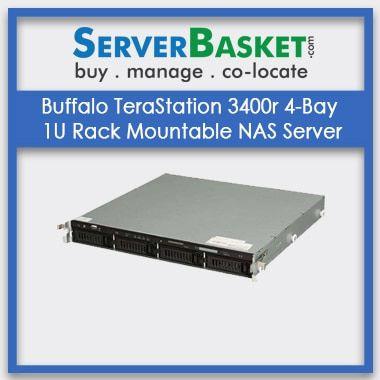Buy Buffalo TeraStation 3400r 4-Bay Server In India