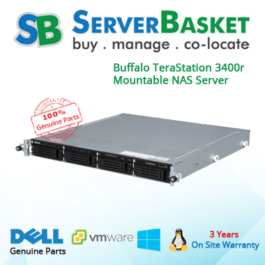Buffalo TeraStation 3400r 4-Bay Server