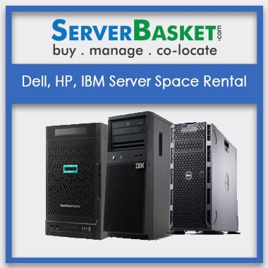 Dell, HP, IBM Server Space Rental In India