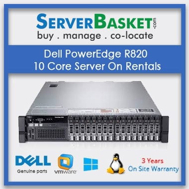 Dell PowerEdge R820 10 Core Server On Rentals In India