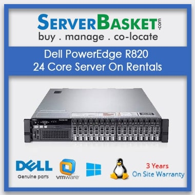 Dell PowerEdge R820 24 Core Server On Rentals In India