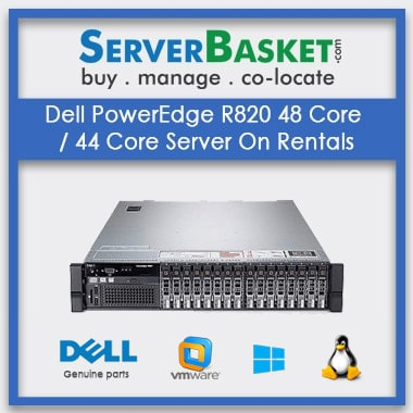 Buy Dell PowerEdge R820 48 Core 44 Core Server On Rental In India