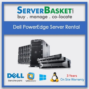 Dell PowerEdge Server Rental In India