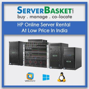 Buy HP Online Server Rental At Low Price In India