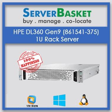 HPE DL360 Gen9 server   1U rack server   HPE servers