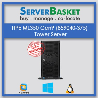 HPE ML350 Gen9 (859040-375) Tower Server