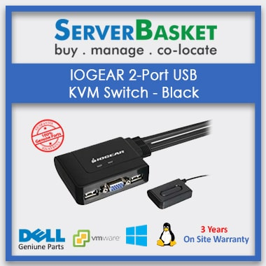 Buy IOGEAR 2-Port USB KVM Switch online at Deal Price on Server Basket