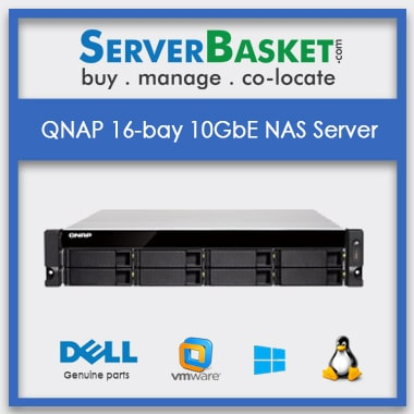 Buy QNAP 16-bay 10GbE NAS server In India