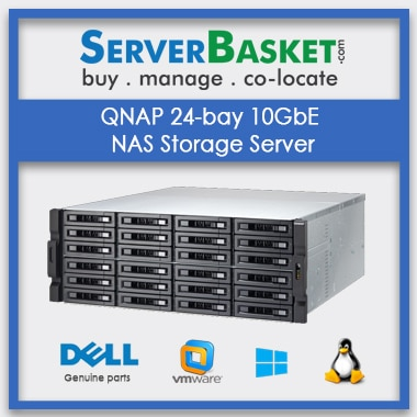 Buy QNAP 24-bay NAS Storage Server In India