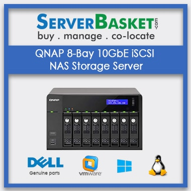 Buy QNAP 8-Bay 10GbE iSCSI NAS Storage Server In India , Buy QNAP NAS Server In India