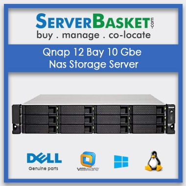 Buy Qnap 12 Bay 10 Gbe Nas Storage Server In India , Buy Qnap 12 Bay 10 Gbe Nas Server In India