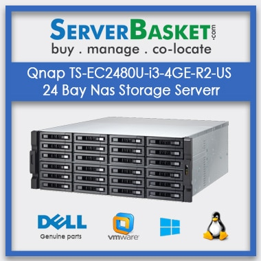 Buy QNAP TS-EC2480U NAS Storage Server In India
