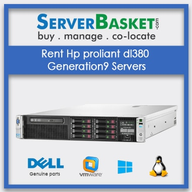 Buy Technology Rentals In India , Rent Hp Proliant DL380 Generation9 Servers In India