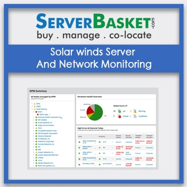 Buy Solar winds Server And Network Monitoring In India