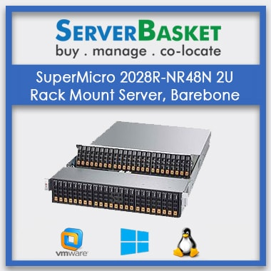 SuperMicro 2028R-NR48N 2U Rack Mount Server | SuperMicro Rack-Mountable Server Online in India
