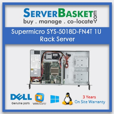 Buy Supermicro SYS-5018D-FN4T 1U Rack Server In India