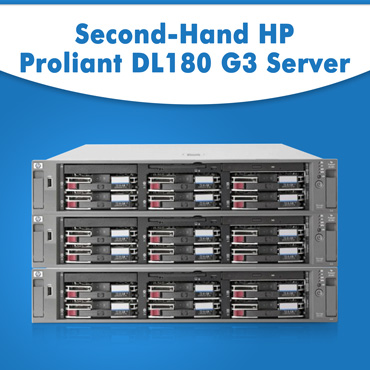 Second-Hand HP Proliant DL180 G3 Server