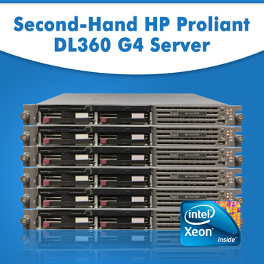 Second-Hand HP Proliant DL360 G4 Server