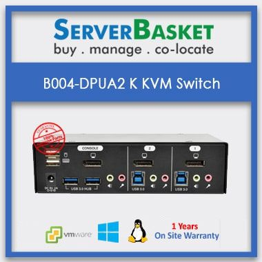 B004-DPUA2-K 2port KVM switch