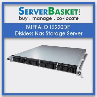 BUFFALO LS220DE Diskless Nas Storage Server In India