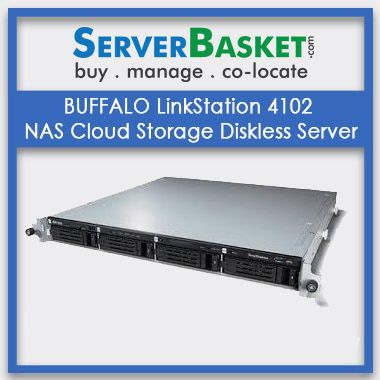 Buy BUFFALO LinkStation 4102 NAS Cloud Storage Diskless Server In India