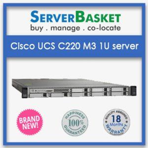 Cisco UCS C220 M3 1U Rack server