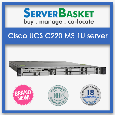 Cisco UCS C220 M3 1U Rack server