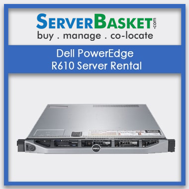 Dell PowerEdge R610 Server Rental In India