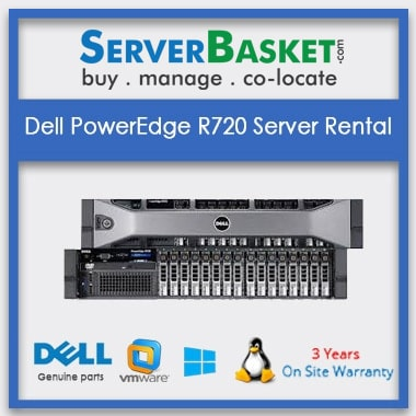 Dell PowerEdge R720 Server Rental In India
