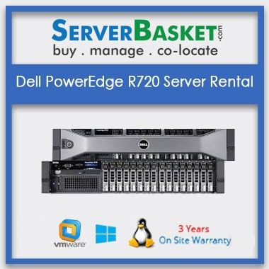 Dell PowerEdge R720 Server Rental | Dell servers rentals