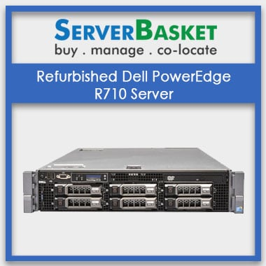 R710, Refurbished Dell PowerEdge R710 Server, Used/Refurbished Dell PowerEdge R710 Server, Used/Refurbished Dell PowerEdge R710 Server at lowest price in India
