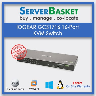Purchase GCS1716 16-Port KVM Switch Online from Server Basket